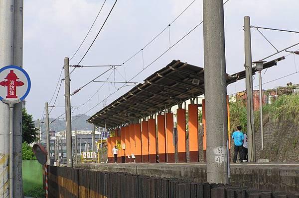 七堵車站 前站月台