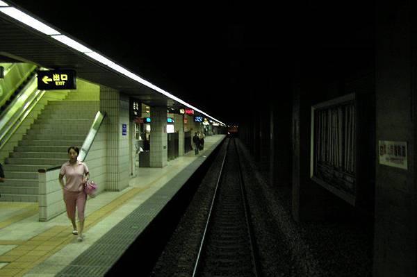 台北車站第三月台