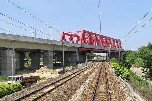 高鐵的高架橋