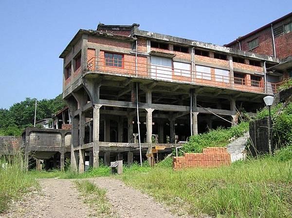 菁桐煤礦的選煤廠遺跡