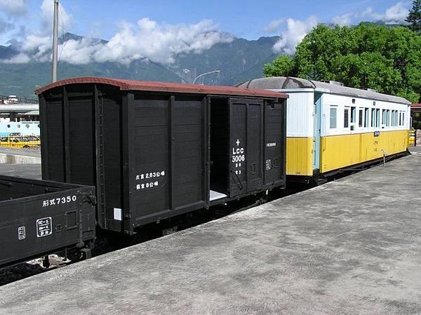 舊東線木造篷車、客車
