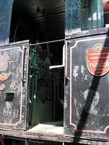 運糖小火車頭 366 銘版