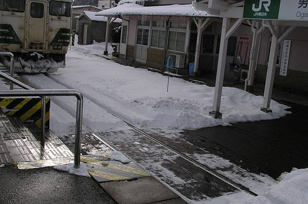 JR男鹿車站