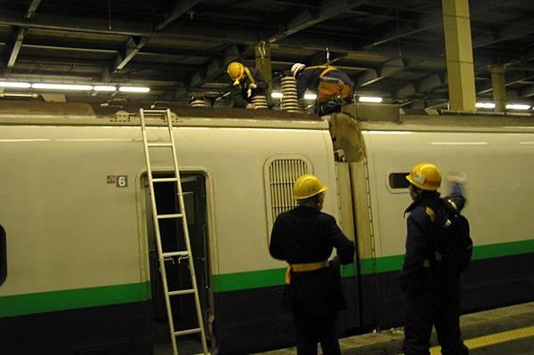上越新幹線 とき #341 掛在燕三条(新潟前一站)