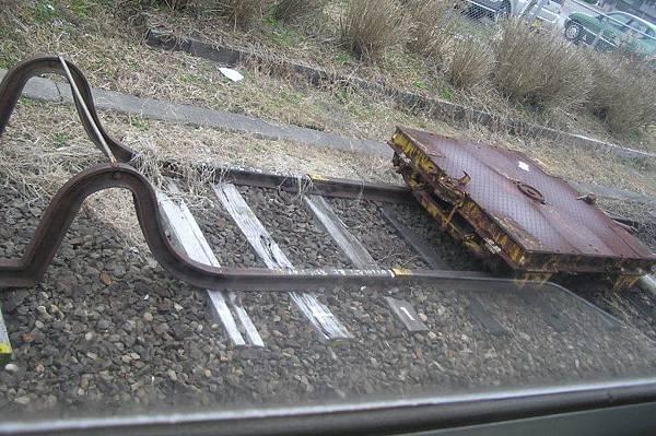 JR日豐本線某站的股道