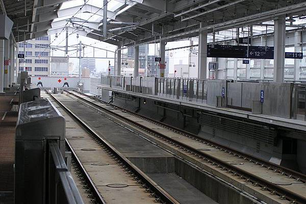 九州新幹線月台