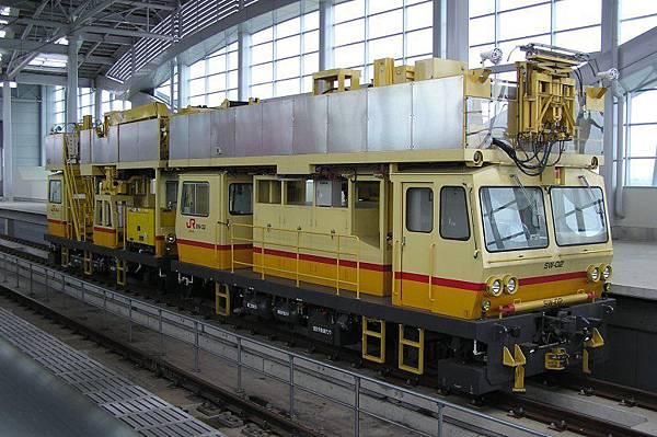 九州新幹線的工程車