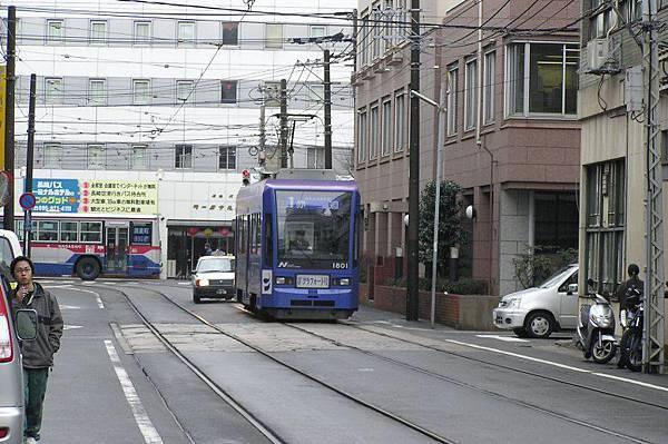 長崎的路面電車