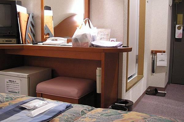 在博多住的旅館房間