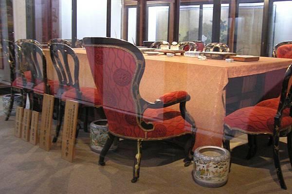 清國人員座位