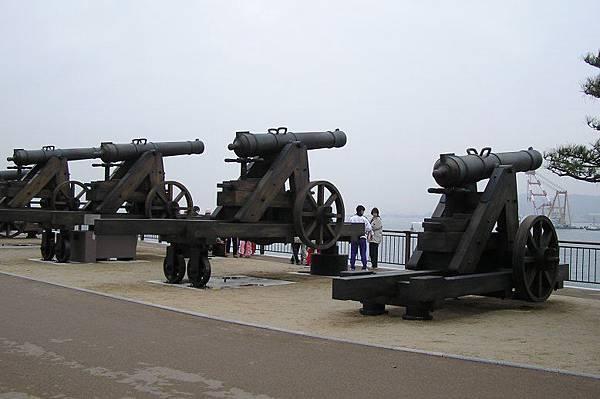 德川幕府末期的砲台