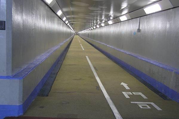 關門海底隧道 行人隧道 本州側