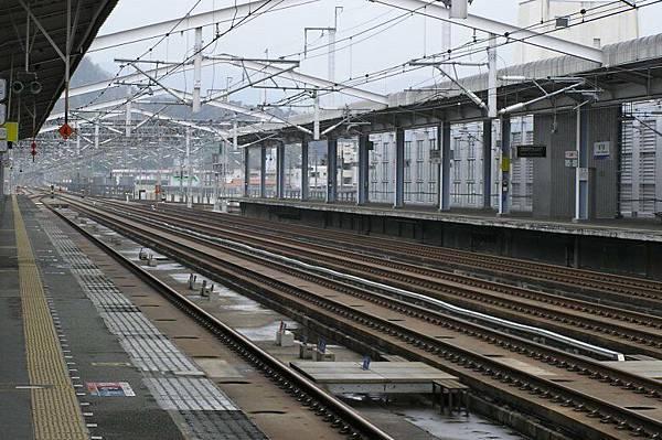 新幹線月台