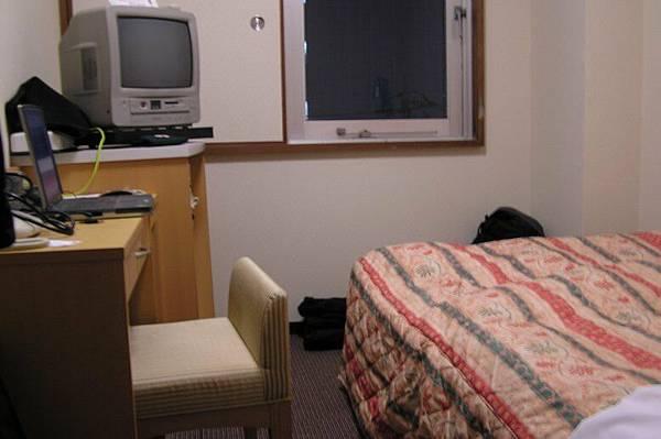 在高知住的旅館房間