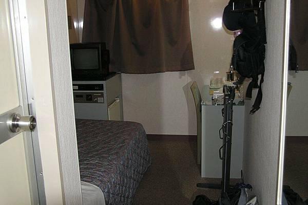 在高松住的旅館房間
