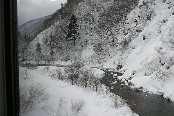秋田新幹線沿線