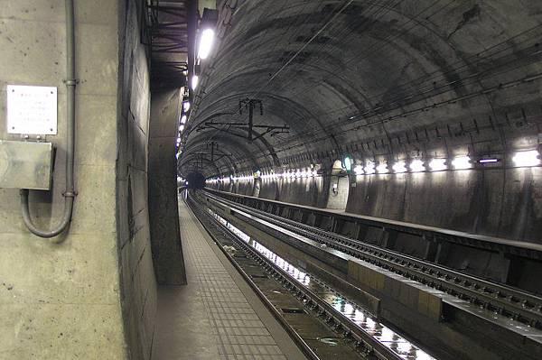 青函海底隧道 北海道方向