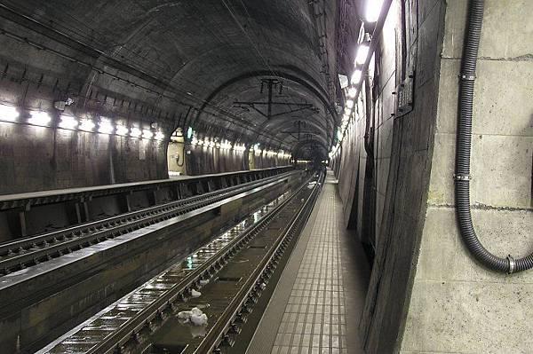 青函海底隧道 本州方向