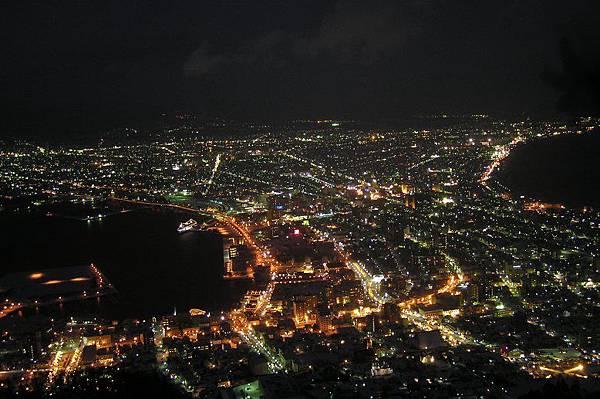函館市區 夜景