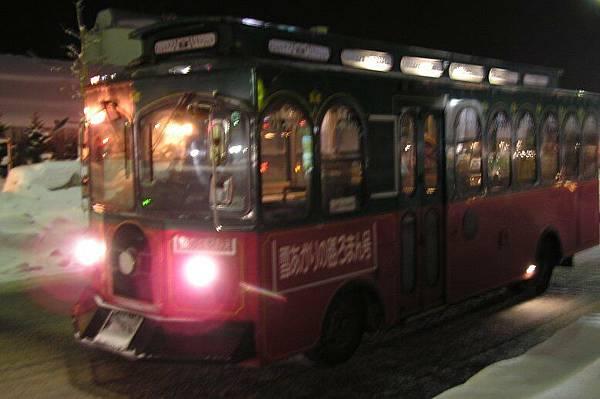 小樽的觀光巴士