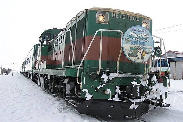 JR北海道 流冰ノロッコ列車