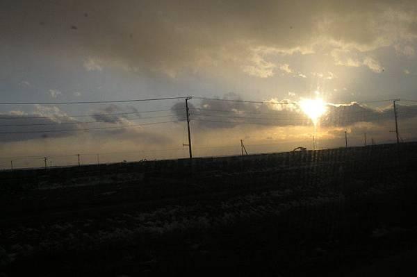 北海道的日落