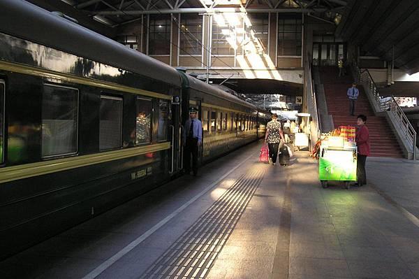 K3列車發車月台