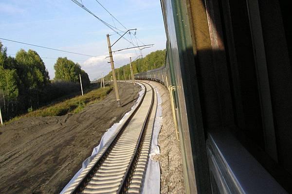 雙線、電氣化的西伯利亞鐵路