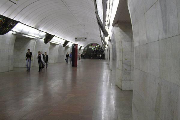 莫斯科地鐵 超華麗的穿堂