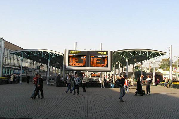 Belorussky 車站 列車資訊