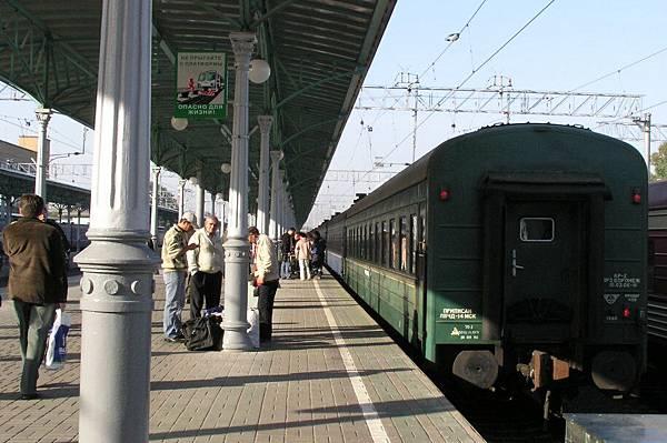Belorussky 車站 第五月台