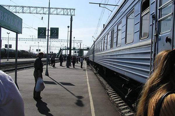 俄羅斯 Vyazsima 車站