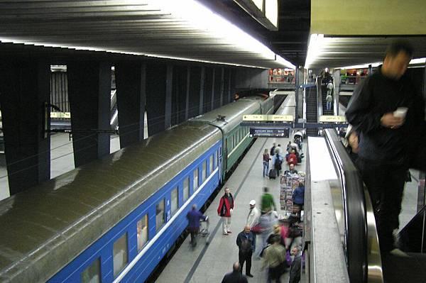 波蘭 華沙 中央車站