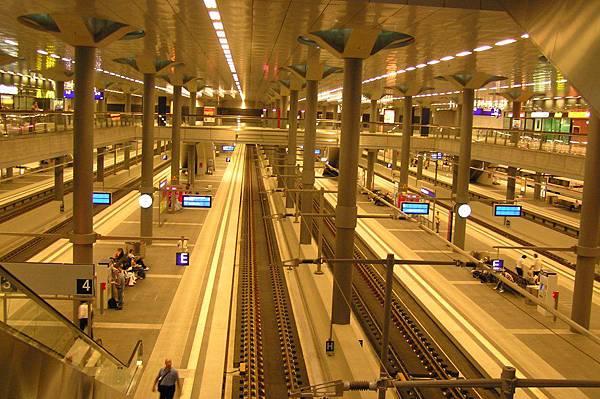 柏林 總站 地下二樓