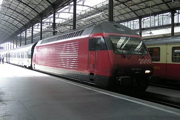 瑞士國鐵的機車頭