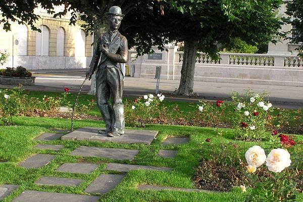 卓別林銅像