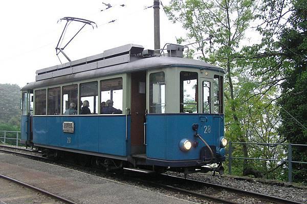 Blonay-Chamby 鐵道 列車