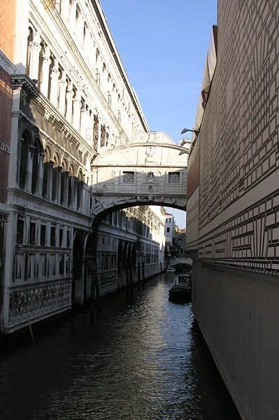 總督宮旁的嘆息橋