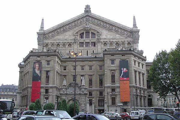 加尼葉歌劇院 另一側