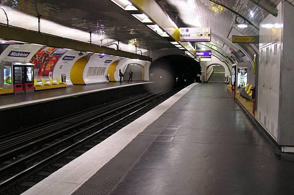 地鐵 瑪德蓮站