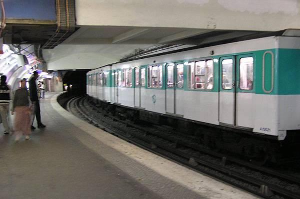 地鐵 巴黎東站