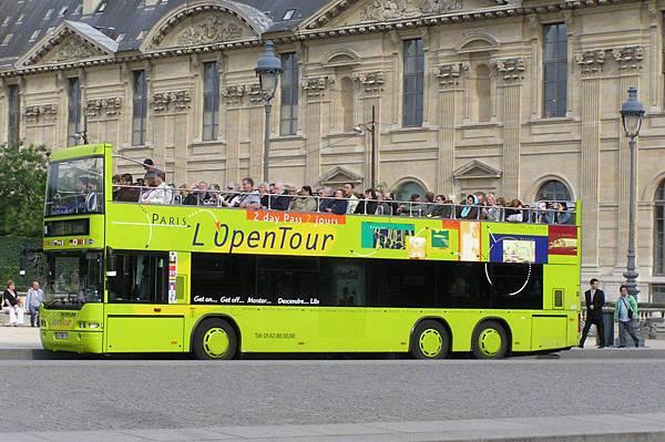 無頂觀光巴士