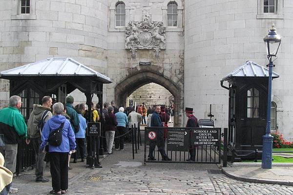 倫敦塔的入口