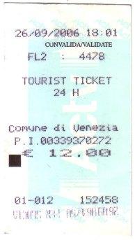 威尼斯 水上巴士一日券