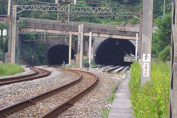 竹仔嶺隧道 原宜蘭線隧道 八堵端