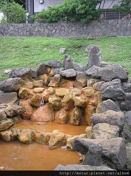 冷水坑溫泉泡腳池