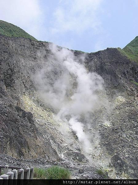 小油坑噴氣口