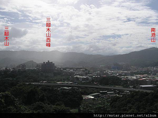 小南港山展望