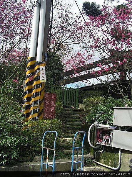 纜車站旁的登山口