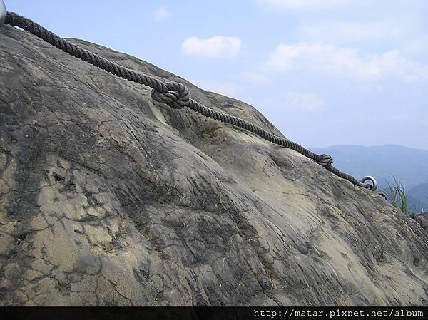 筆架山東峰 580M